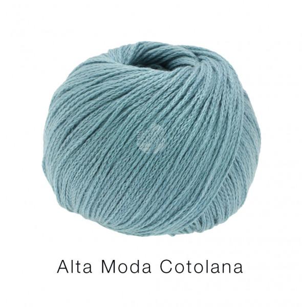 Lana Grossa Alta Moda Cotolana 012 Pastelltürkis 50g