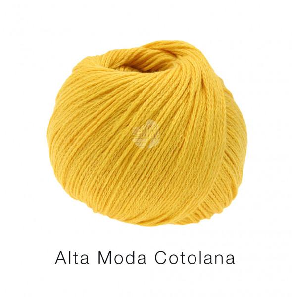 Lana Grossa Alta Moda Cotolana 001 Gelb 50g