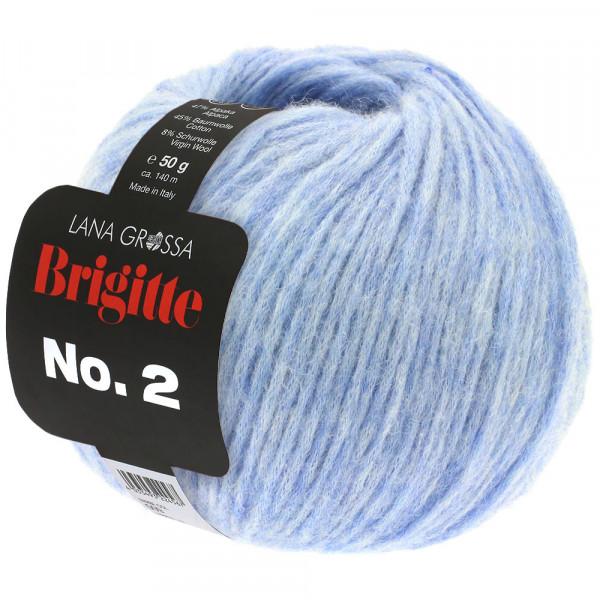 Lana Grossa BRIGITTE NO.2 023 Hellblau 50g