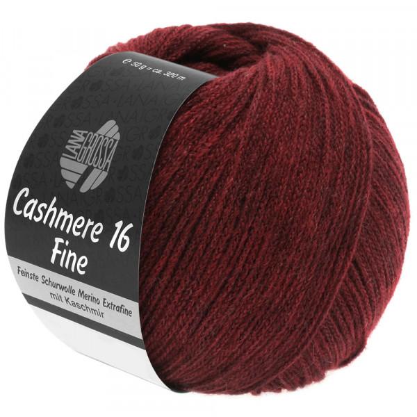 Lana Grossa Cashmere 16 Fine 011 Dunkelrot 50g