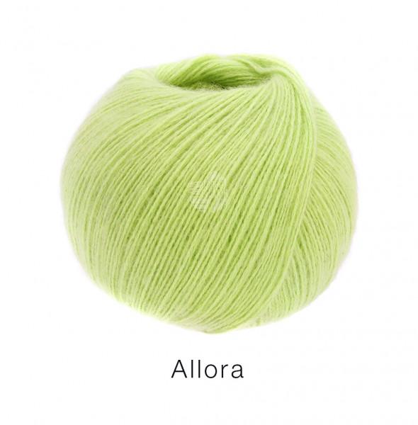 Lana Grossa Allora 002 Gelbgrün 50g