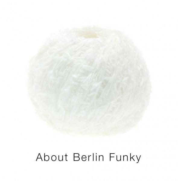 Lana Grossa About Berlin Funky 001 Weiß 50g