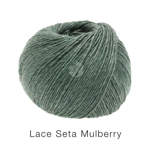 Lana Grossa Lace Seta Mulberry 019 Dunkelgrün 50g
