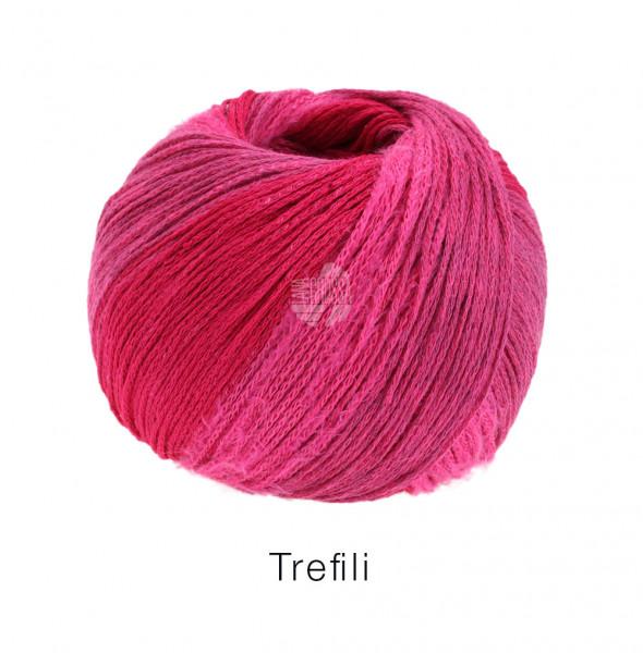 Lana Grossa Trefili 004 Pink/himbeer 50g