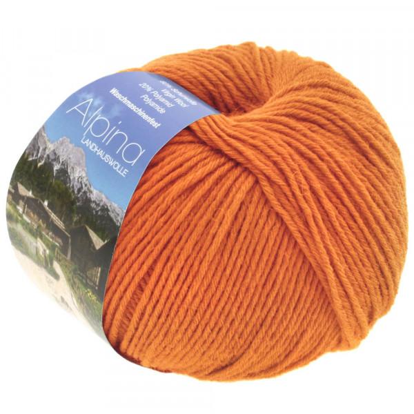 Lana Grossa Alpina Landhauswolle 042 Orange 100g