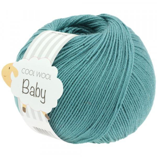 Lana Grossa Cool Wool Baby 284 Minttürkis 50g