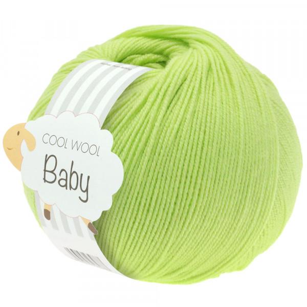 Lana Grossa Cool Wool Baby 228 Limette 50g