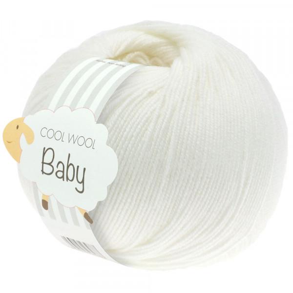 Lana Grossa Cool Wool Baby 207 Weiß 50g