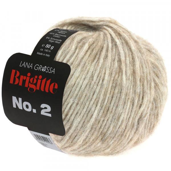 Lana Grossa Brigitte No.2 015 Beige 50g
