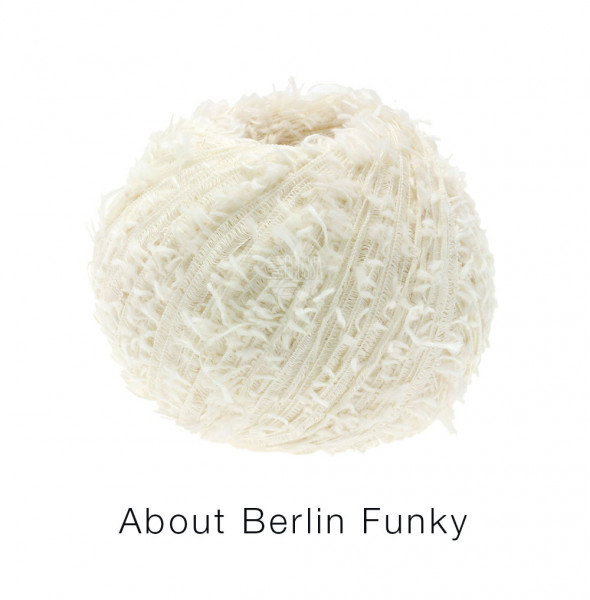 Lana Grossa About Berlin Funky 002 Creme 50g