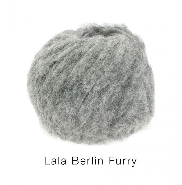 Lana Grossa lala BERLIN FURRY 0011 Grau 50g