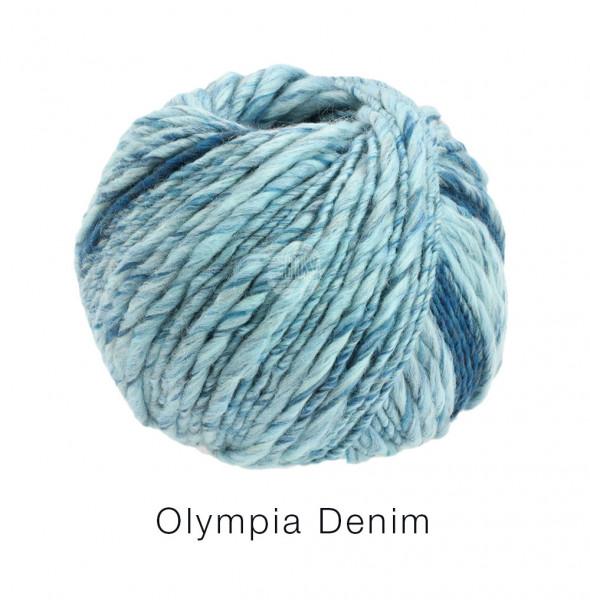 Lana Grossa Olympia Denim - Mint/Petrol