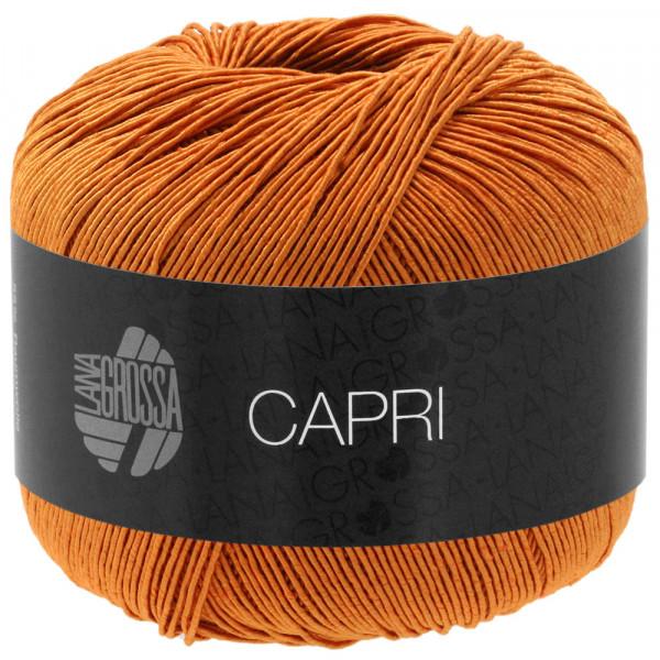 Lana Grossa Capri 018 Orangebraun 50g