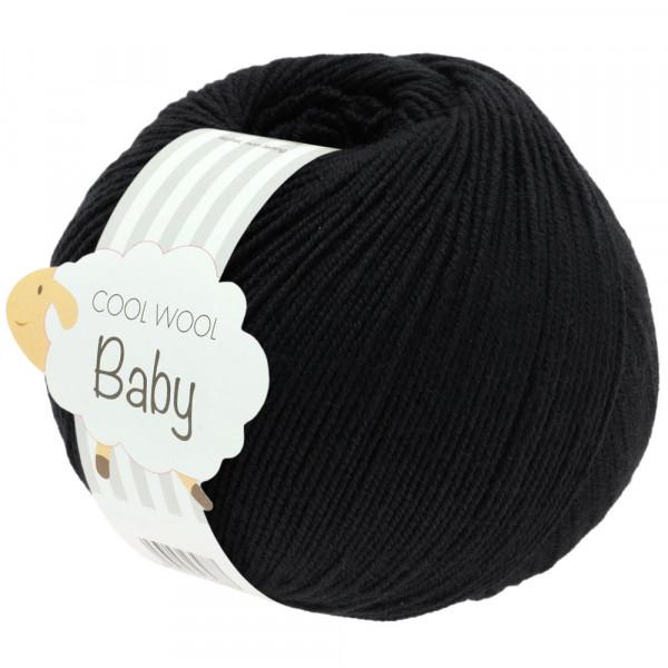 Lana Grossa Cool Wool Baby 278 Schwarz 50g