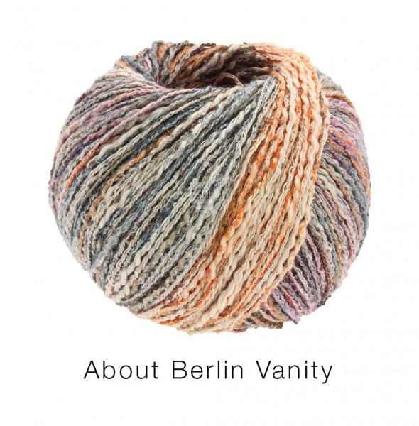 Lana Grossa About Berlin Vanity 007 Rost/Terrakotta/Antikviolett/Grau bunt 50g