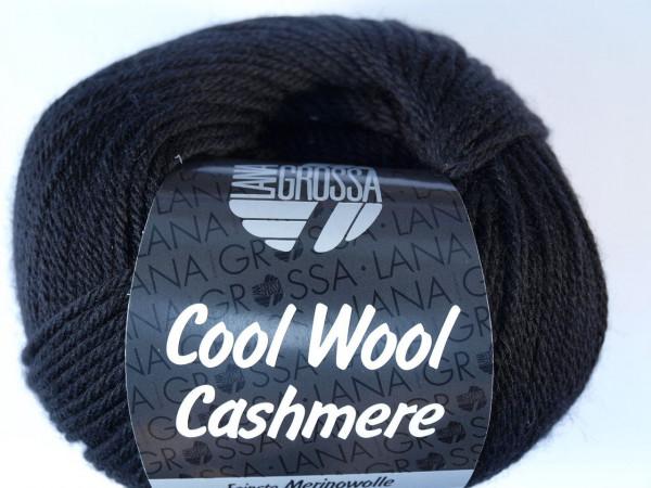 Lana Grossa Cool Wool Cashmere - Schwarz