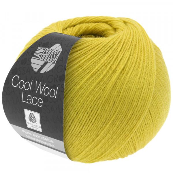 Lana Grossa Cool Wool Lace 008 Senfgelb 50g