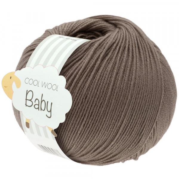 Lana Grossa Cool Wool Baby 211 Graubraun 50g