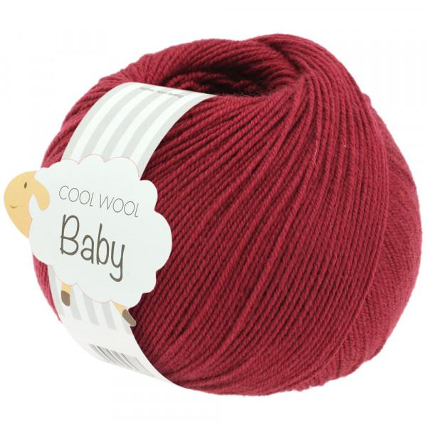 Lana Grossa Cool Wool Baby 281 Weinrot 50g