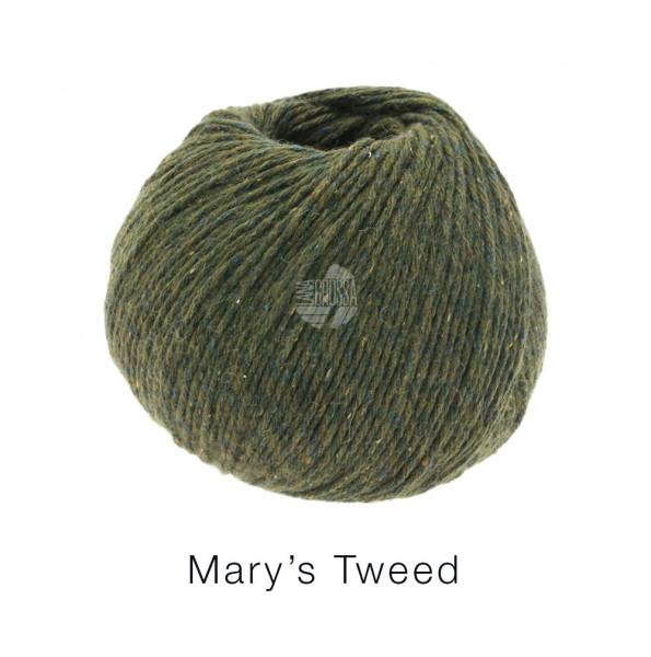 Lana Grossa Mary's Tweed 009 Loden meliert 50g