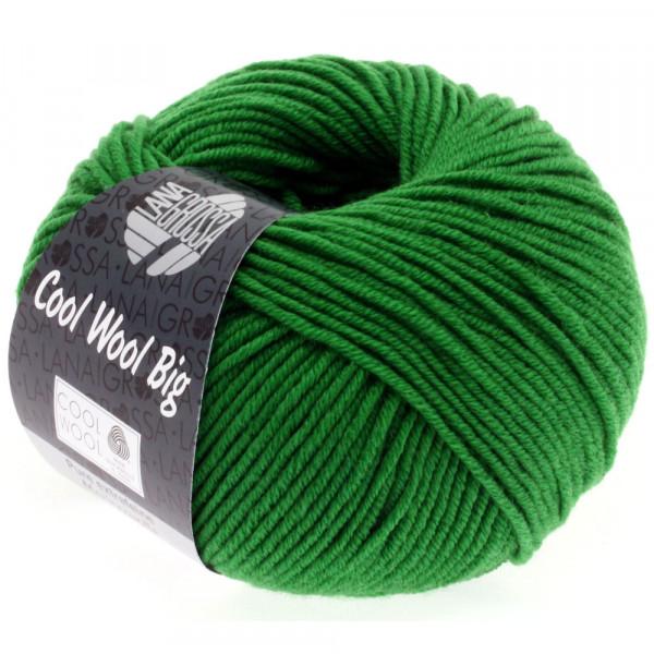 Lana Grossa Cool Wool Big 939 Dunkelgrün 50g