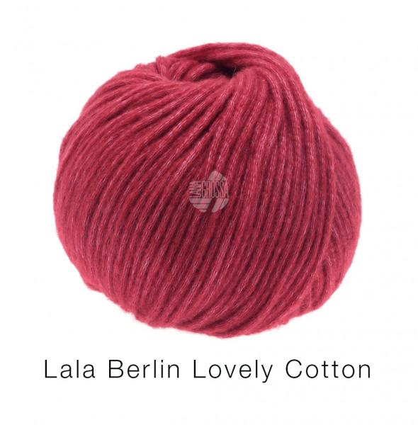 Lana Grossa Lala Berlin Lovely Cotton 016 Kardinalrot 50g