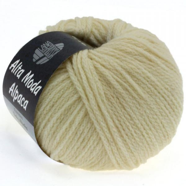 Lana Grossa Alta Moda Alpaca 014 Rohweiß 50g