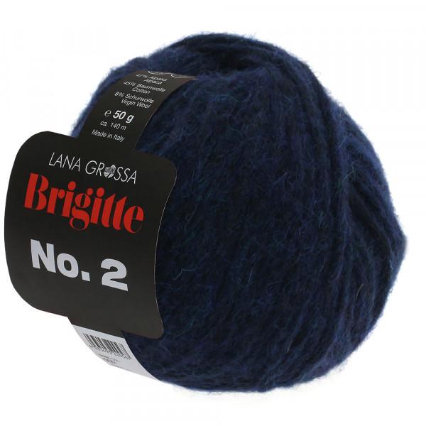Lana Grossa Brigitte No.2 005 Dunkelblau 50g