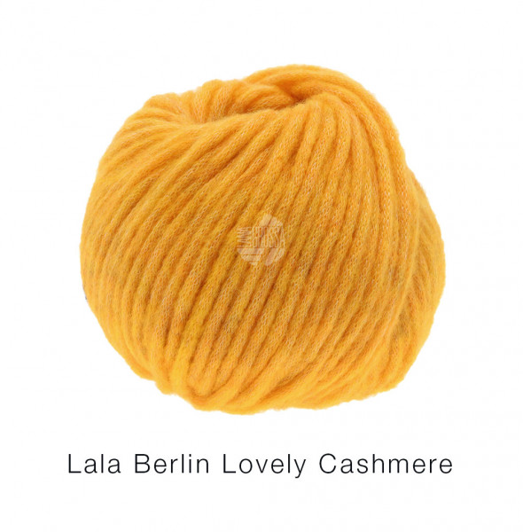 Lana Grossa lala BERLIN LOVELY CASHMERE 0001 Dottergelb 25g