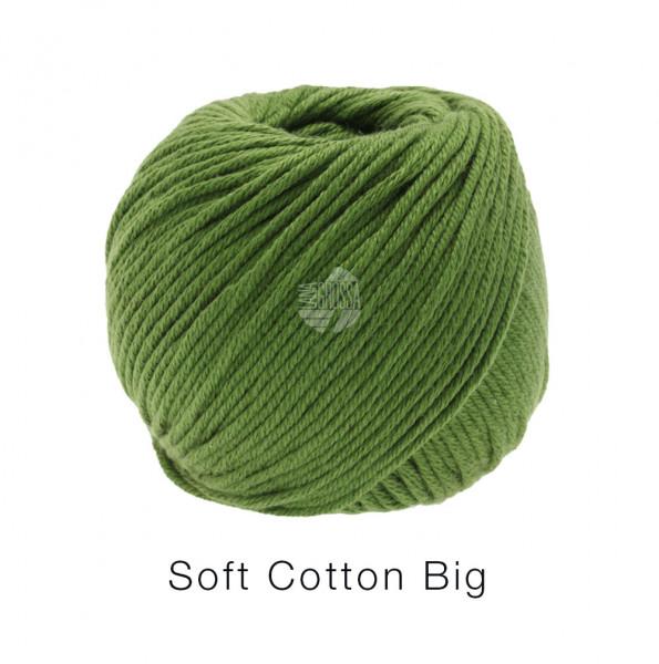 Lana Grossa Soft Cotton Big 012 Dunkelgrün 50g