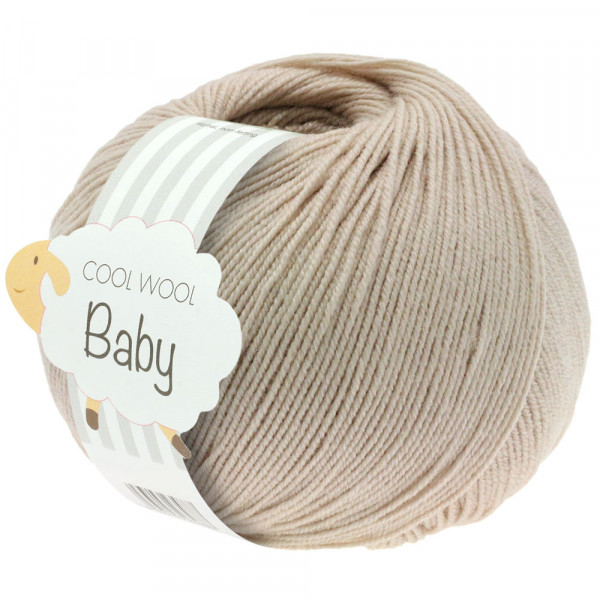 Lana Grossa Cool Wool Baby 212 Grège 50g