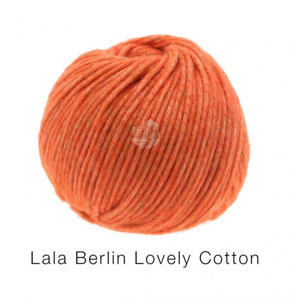 Lana Grossa Lala Berlin Lovely Cotton 011 Rotorange 50g
