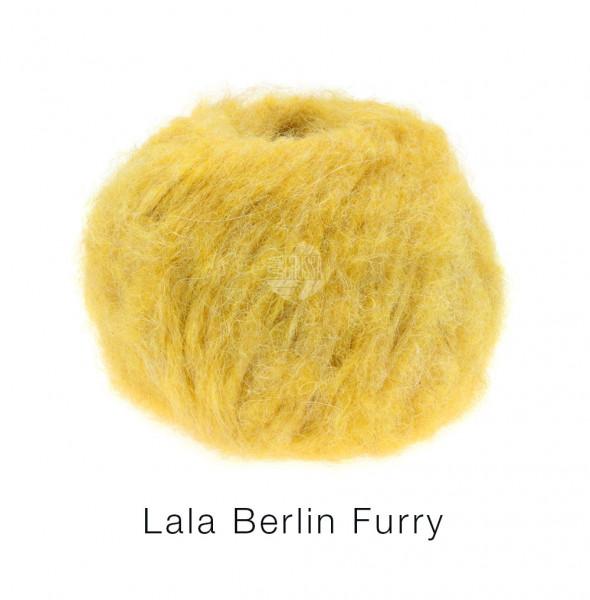 Lana Grossa lala BERLIN FURRY 0003 Gelb 50g