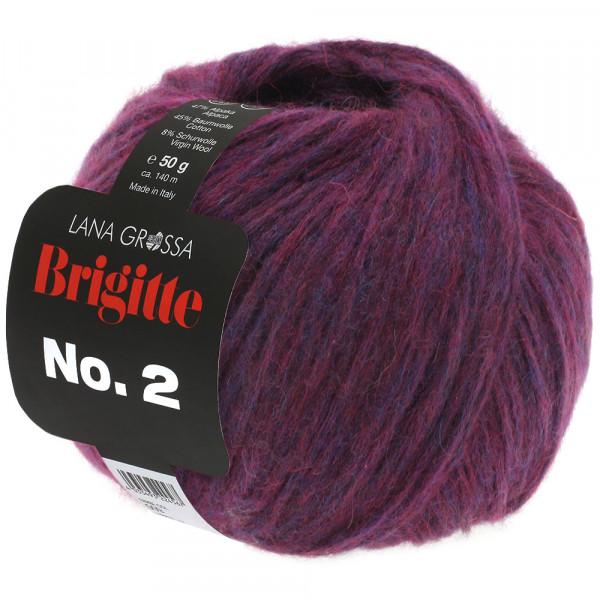 Lana Grossa Brigitte No.2 034 Aubergine 50g