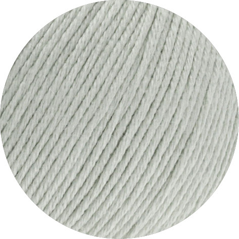 Lana Grossa Soft Cotton 018 Hellgrau 50g