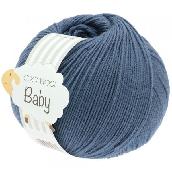 lana Grossa Cool Wool Baby 263 Taubenblau 50g