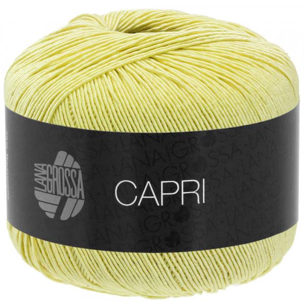 #Lana Grossa Capri 013 Zitronengelb 50g