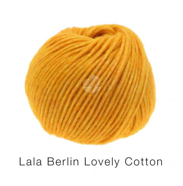 Lana Grossa Lala Berlin Lovely Cotton 012 Dottergelb 50g