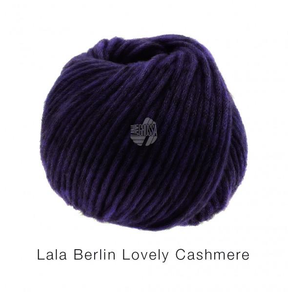Lana Grossa lala Berlin Lovely Cashmere 015 Aubergine 25g