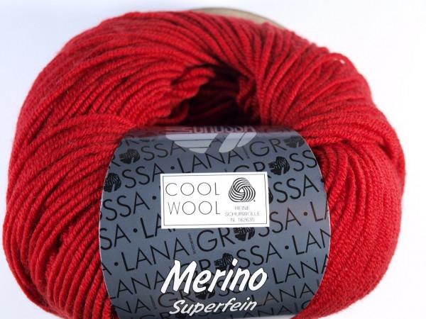 Lana Grossa Cool Wool 2000 514 Dunkelrot